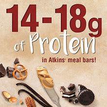 Load image into Gallery viewer, Atkins Protein-Rich Meal Bar, Chocolate Almond Caramel, Keto Friendly, 5 Count B071GT76MN 5 Count (Pack of 1) Brown