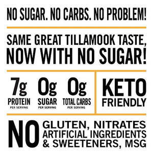 Tillamook Country Smoker Zero Sugar Original Keto Friendly Smoked Sausages, 10 Ounce (Pack of 1)