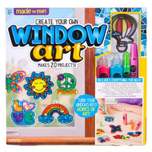 Load image into Gallery viewer, Made By Me Create Your Own Window Art by Horizon Group USA, Paint Your Own Suncatchers, Includes 12 Suncatchers & More, Assorted Colors