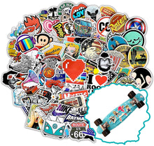 Load image into Gallery viewer, Style-B 100Pcs Featured Stickers(50~500 Pcs/Pack),Suitable for children and adults of all ages,Fast Shipped by . Decals Vinyls for Laptop,Kids,Cars,Motorcycle,Bicycle,Skateboard