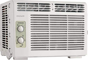 Frigidaire 5,000 BTU 115V Window-Mounted Mini-Compact Air Conditioner with Mechanical Controls, White FFRA051WAE