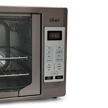 Load image into Gallery viewer, Oster TSSTTVFDDG-DS Black Stainless Steel Collection French Door Oven, Extra Large