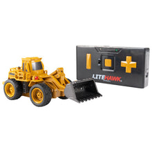 Load image into Gallery viewer, LiteHawk Wee 2WD RC Construction Wheeled Loader - Desert Yellow