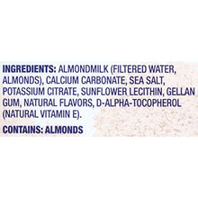 Load image into Gallery viewer, Blue Diamond Almonds Dairy Free Almondmilk, Unsweetened Original, 32 Fluid Ounce 19001 32 FZ