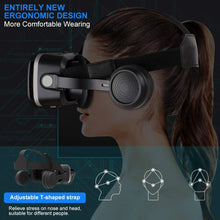 Load image into Gallery viewer, Pansonite Vr Headset with Remote Controller[New Version], 3D Glasses Virtual Reality Headset for VR Games & 3D Movies, Eye Care System for iPhone and Android Smartphones