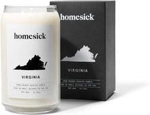 Load image into Gallery viewer, Homesick Scented Candle, Virginia