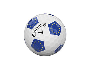 Callaway Golf Chrome Soft Truvis Golf Balls, (One Dozen), European Union (Prior Generation) 6421255122530