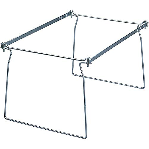 Smead Steel Hanging File Folder Frame, Legal Size, Gray, Adjustable Length 23...
