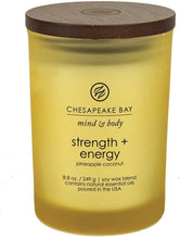Load image into Gallery viewer, Chesapeake Bay Candle Scented Candle, Strength + Energy (Pineapple Coconut), Medium