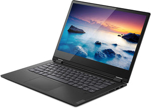 Lenovo Flex 14 Convertible Laptop, 14 Inch FHD (1920 X 1080) IPS Touch Display, Intel Core I5-8265U Processor, 8GB DDR4 RAM, 128GB Nvme SSD, Onyx Black & Active Capacity Pens - Black