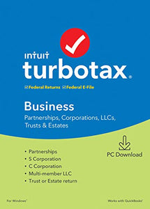Intuit, Inc. TurboTax Business 2019 Tax Software [PC Download]