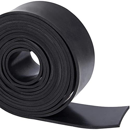 TORRAMI Solid Neoprene Rubber Strips Roll 1/8 (.125) inch Thick X 2 inch Wide X...
