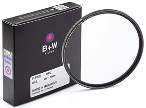 B + W 95mm UV Protection Filter (010) for Camera Lens – Standard Mount (F-PRO), MRC, 16 Layers Multi-Resistant Coating, Photography Filter, 95 mm, Clear Protector 66-045110 none