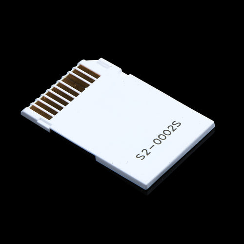 Dual Slot Micro For SD SDHC TF to Memory Stick MS Card Pro Duo Reader Adapt