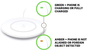 Belkin Boost Up Wireless Charging Pad 7.5W – Fast iPhone Wireless Charger for iPhone XS, XS Max, XR, X, 8, 8 Plus, AirPods 2 (Compatible w/ Samsung, LG, Sony, more)