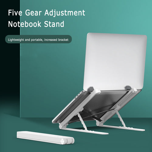 Notebook Lifting Bracket Heat Dissipation Foldable Laptop Computer Stand Height/Angle Adjustable For MacBook Tablet Non-slip