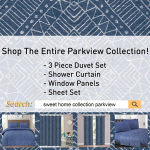 1500 Supreme Collection Extra Soft Parkview Sophisticated Subtle Pattern Sheet Set, King - Luxury Bed Sheets Set with Deep Pocket Wrinkle Free Hypoallergenic Bedding, Trending Printed Pattern, King