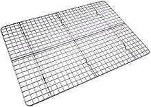 Load image into Gallery viewer, Checkered Chef Cooling Rack Baking Rack. Stainless Steel Oven and Dishwasher Safe. Fits Half Sheet Cookie Pan unknown one size Silver