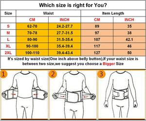 VENUZOR Waist Trainer Belt for Women - Waist Cincher Trimmer - Slimming Body Shaper Belt - Sport Girdle Belt (UP Graded)