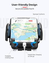 Load image into Gallery viewer, Mpow Car Phone Mount, Dashboard Windshield Car Phone Holder with Long Arm, Strong Sticky Gel Suction Cup, Anti-Shake Stabilizer Compatible iPhone 11 Pro/Max/XS/XR/X/8/7, Galaxy, Moto and More