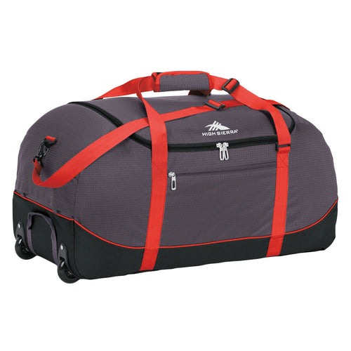 High Sierra Wheel-N-Go Duffel Bag Grey