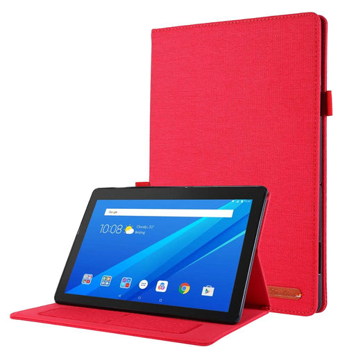 Case For Lenovo Tab E10 10.1 Tablet Cover Funda TB-X104F TB X104F TB-X104L Slim Folding PU Leather Stand Shell