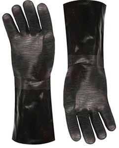"Artisan Griller Redefining Outdoor Cooking BBQ Heat Resistant Insulated Smoker, Grill, Fryer, Oven, Cooking Gloves. Barbecue/Frying/Grilling – Waterproof, Oil Resistant -1 pair (Size 10/XL - Fits Most 8119 Size 10/XL -13"" Black"