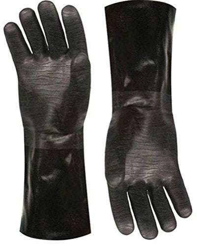 Artisan Griller Redefining Outdoor Cooking BBQ Heat Resistant Insulated Smoker, Grill, Fryer, Oven, Cooking Gloves. Barbecue/Frying/Grilling – Waterproof, Oil Resistant -1 pair (Size 10/XL - Fits Most 8119 Size 10/XL -13