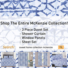 Load image into Gallery viewer, 1500 Supreme Collection Extra Soft McKenzie Artful Balanced Light Blue Intricate Pattern Sheet Set, Full - Luxury Bed Sheets Set with Deep Pocket Wrinkle Free Hypoallergenic Bedding, Full