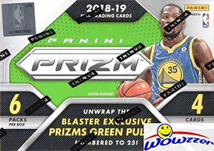 2018/2019 Panini PRIZM NBA Basketball EXCLUSIVE Factory Sealed Retail Box with AUTOGRAPH or MEMORABILIA Card! Look for Rookies & Autos of Luka Doncic, Trae Young, Deandre Ayton & More! WOWZZER!
