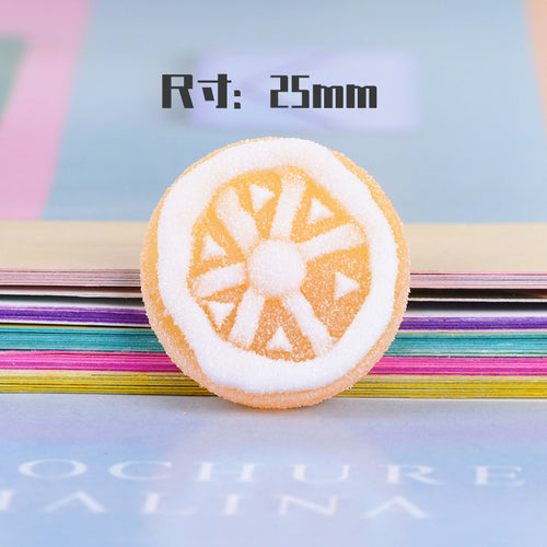 Diy Fake Fruit Candy Charms Sprinkles Polymer Filler For Fluffy Modelling Slime Supplies Accessories Toys Lizun Clay kit For Kid
