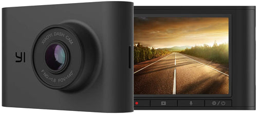 YI Nightscape Dash Cam, 1080p Smart Wi-Fi Car Camera with Heat-Resistant...
