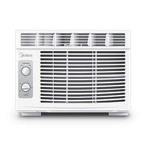 Midea MAW05M1BWT Window air Conditioner 5000 BTU with Mechanical Controls, White