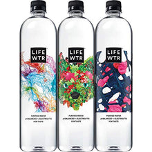 Load image into Gallery viewer, LIFEWTR, Premium Purified Water, pH Balanced with Electrolytes For Taste, 1000 mL (6 Count) (Packaging May Vary) 1000mL 6 Count