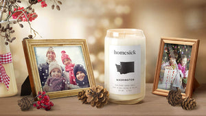 Homesick Scented Candle, South Carolina