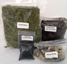 Load image into Gallery viewer, Terrarium Essentials Kit sold by JM Bamboo Terrarium-1