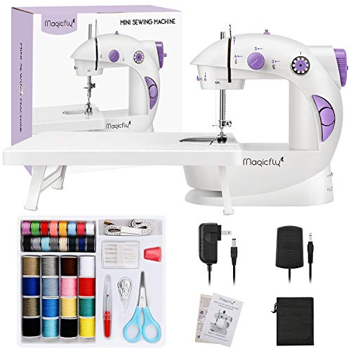 Magicfly Mini Sewing Machine for Beginner, Dual Speed Portable Sewing Machine...