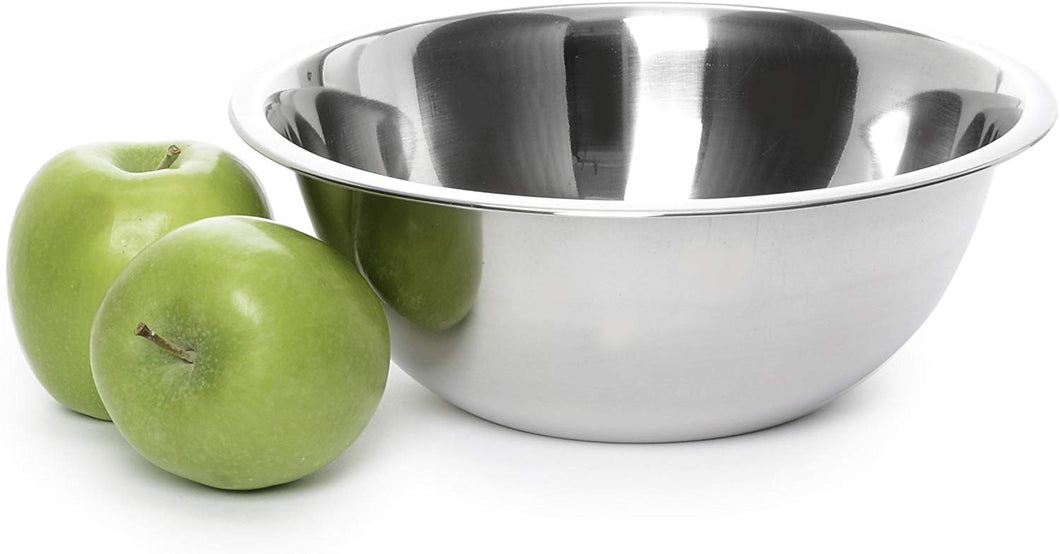 Stainless Steel Mixing Bowl - Premium Polished Mirror Nesting Metal Bowl for Cooking and Serving, Stackable for Convenient Storage 2532 (.75 Quart)