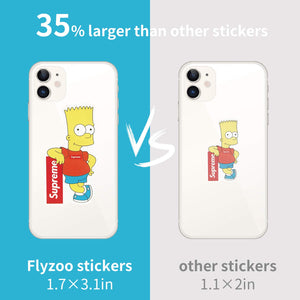 Style-C 100Pcs Featured Stickers(50~500 Pcs/Pack),Suitable for children and adults of all ages,Fast Shipped by . Decals Vinyls for Laptop,Kids,Cars,Motorcycle,Bicycle,Skateboard