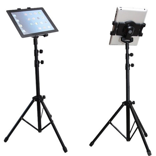 Universal Tripod Stand Collapsible 7-10inch Tablets Mount Holder Adjustable Height ​Tripod For Live Broadcasting Video Watching