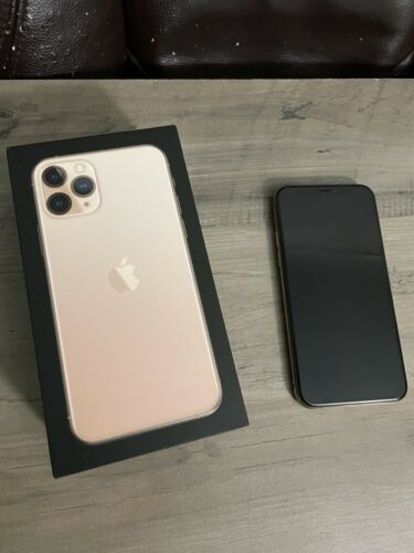 iPhone 11 Pro Unlocked 256gb Gold Near-Mint