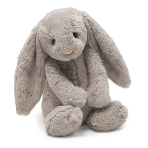 Jellycat Bashful Bunny - Grey, Medium
