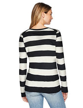 Load image into Gallery viewer,  Essentials Women's Lightweight Long-Sleeve V-Neck Sweater, Oatmeal...