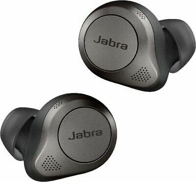 Elite 85t True wireless earbuds with Jabra Advanced ANC- Titanium Black