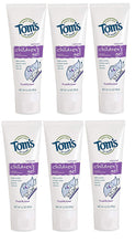 Load image into Gallery viewer, Tom's of Maine Children's Fluoride Anticavity Gel, Kids Toothpaste, Natural Toothpaste, Fruitilicious, 4.2 Ounce, 6-Pack