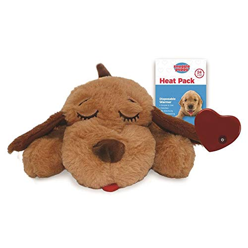 SmartPetLove Snuggle Puppy Behavioral Aid Toy, Biscuit SP112 12x6x3