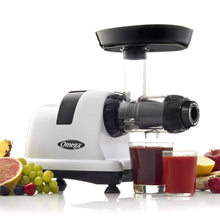 Load image into Gallery viewer, Omega J8006HDS Nutrition Center Quiet Dual-Stage Slow Speed Masticating Juicer Makes Fruit and Vegetable 80 Revolutions per Minute High Juice, 200-Watt, Silver