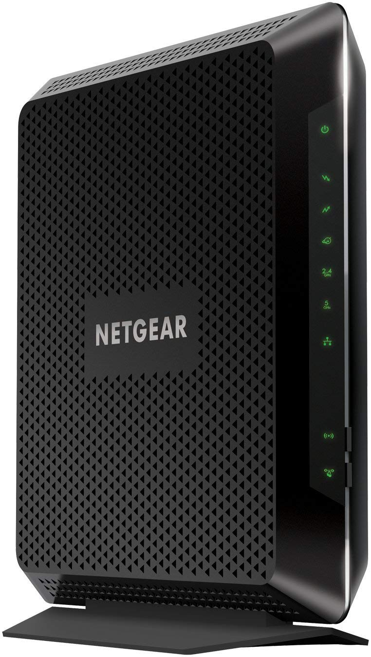 NETGEAR Nighthawk Cable Modem WiFi Router Combo C7000-Compatible with all Cable Providers including Xfinity by Comcast, Spectrum, Cox | For Cable Plans Up to 400 Mbps | AC1900 WiFi speed | DOCSIS 3.0