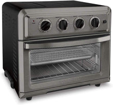 Load image into Gallery viewer, Cuisinart TOA-60BKS Toaster Oven Air Fryer.6 Cubic Interior, Black Stainless Steel