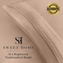 Load image into Gallery viewer, 1500 Supreme Collection Bed Sheets Set - Luxury Hotel Style 4 Piece Extra Soft Sheet Set - Deep Pocket Wrinkle Free Hypoallergenic Bedding - Over 40+ Colors - California King, Taupe